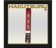 Competition Master Belt - Karate-Do Embroidery - Red