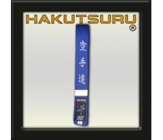 Competition Master Belt - Karate-Do Embroidery - Blue