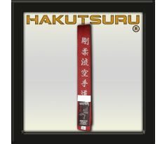 Competition Master Belt - Goju-Ryu Katate-Do Embroidery - Red
