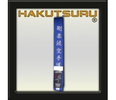 Competition Master Belt - Goju-Ryu Karate-Do Embroidery - Blue